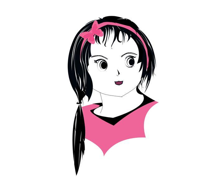 Cute Girl - Drawings