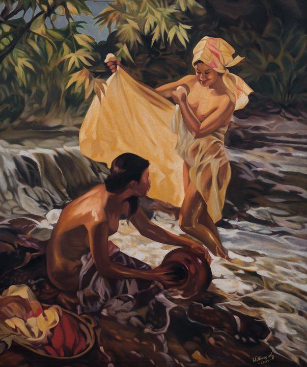 Bali bath - OS Ng
