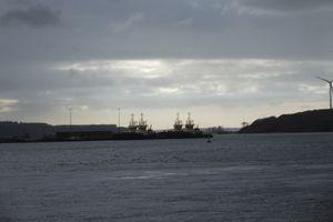 Dockyard Sunset - Mark Rosser