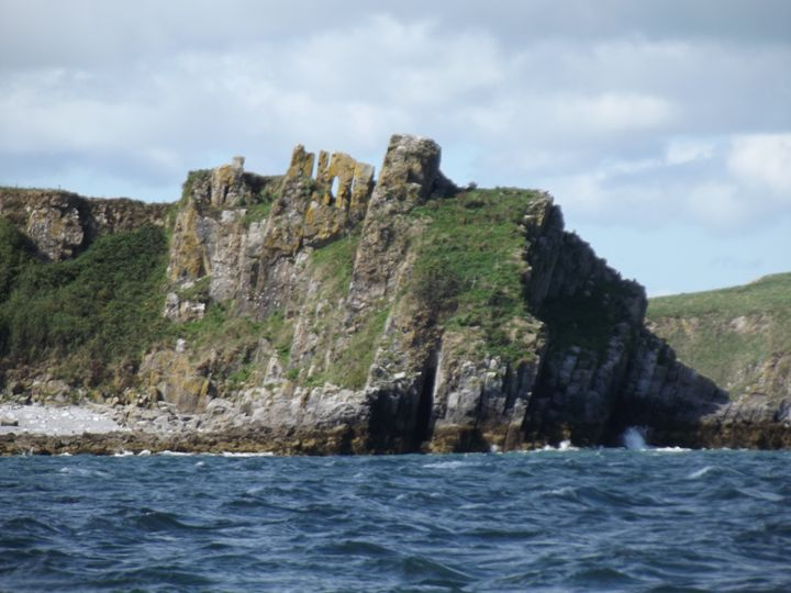 Caldy Island arrival - Mark Rosser