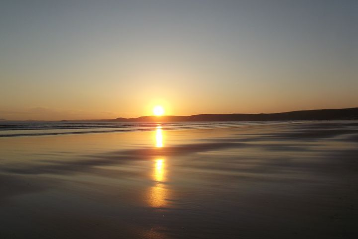 Newgale sunset 5 - Mark Rosser