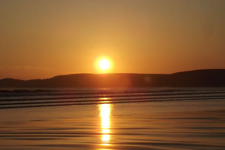 Newgale sunset 4 - Mark Rosser