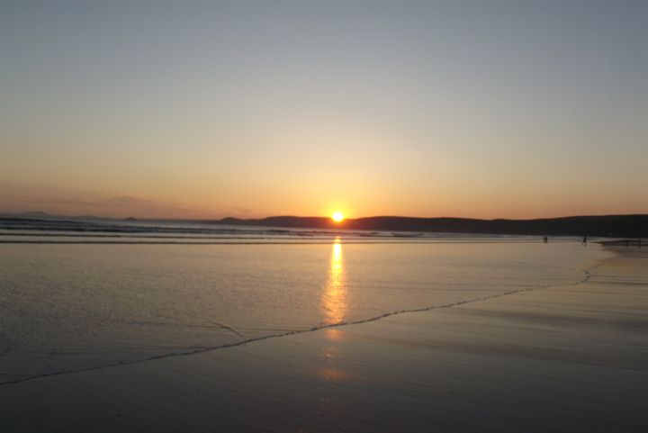 Newgale sunset - Mark Rosser
