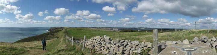 Caldy Island panorama - Mark Rosser