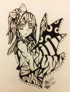 Cute girl/blend