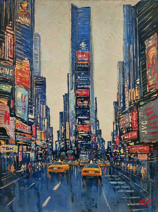 New York Time Square #1 - Movses Petrosyan