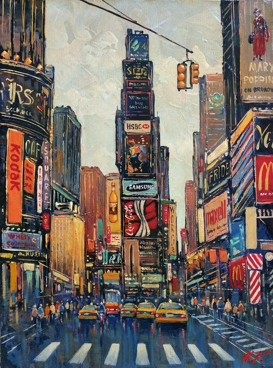 New York Time Square #2 - Movses Petrosyan