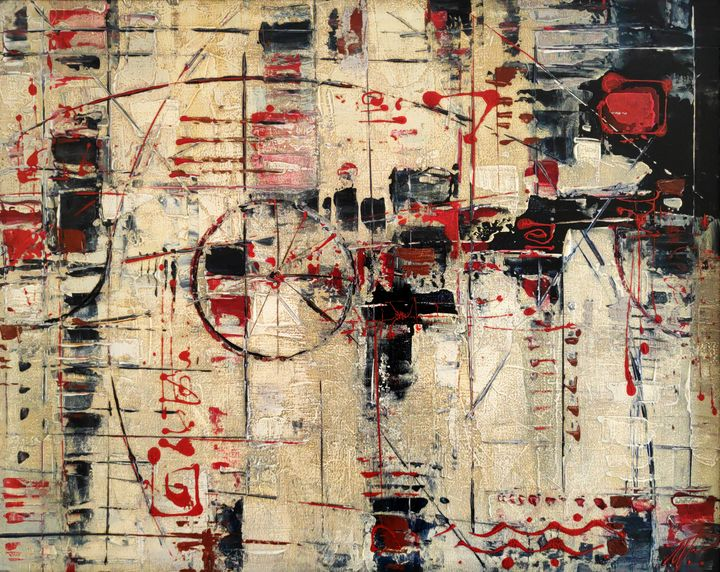 Abstract Painting #03 - Movses Petrosyan