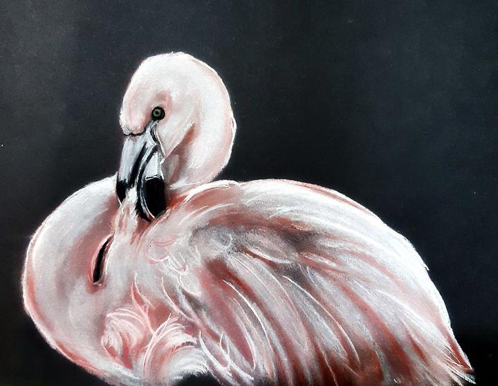 Pretty in Pink - Julie Bramley Art