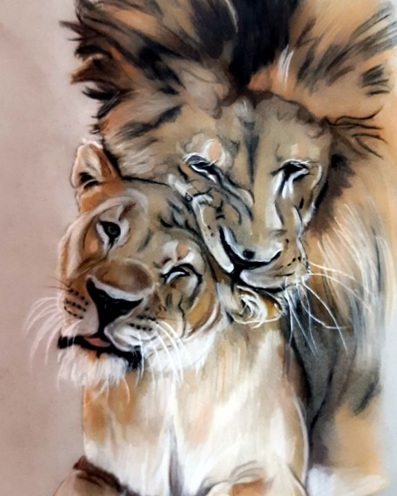 I will be King and you will be Queen - Julie Bramley Art