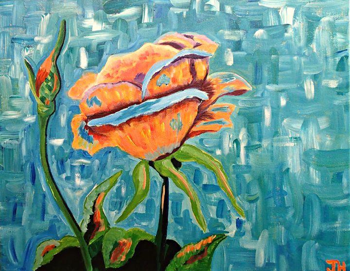 Remembrance Rose - BrilliantColorsbyJen