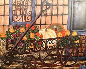 Harvest Wagon - BrilliantColorsbyJen