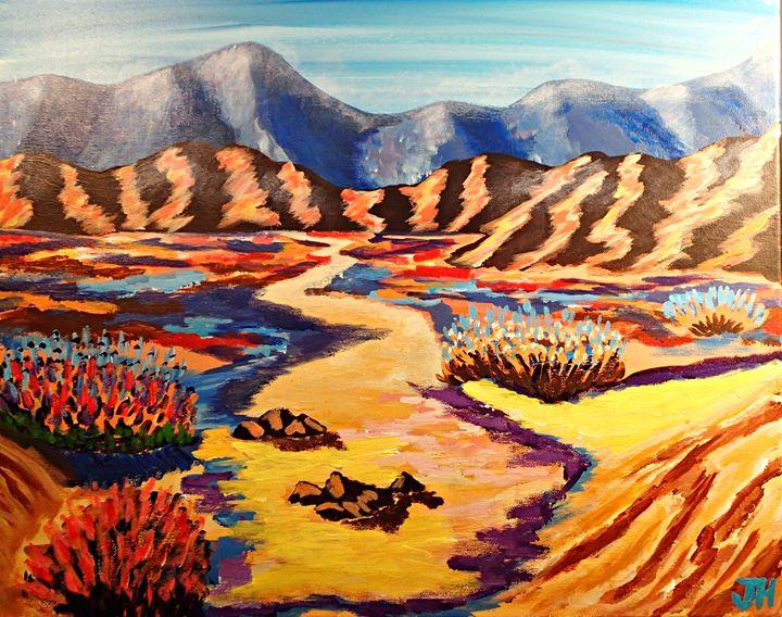 The Painted Desert - BrilliantColorsbyJen