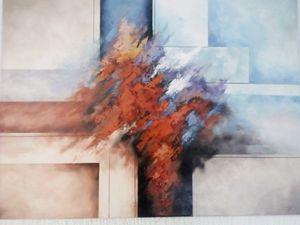Abstract painting - Filip Petrović