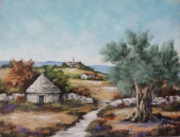 Village in Istria - Filip Petrović