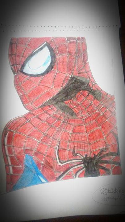 Spiderman - Rittick's wardrobe