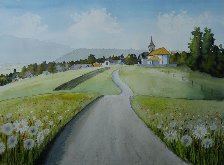 Jakovica - Marjan Malovrh paintings