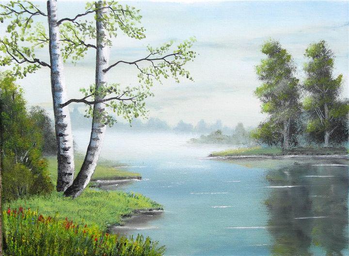 Lazzy river - Marjan Malovrh paintings