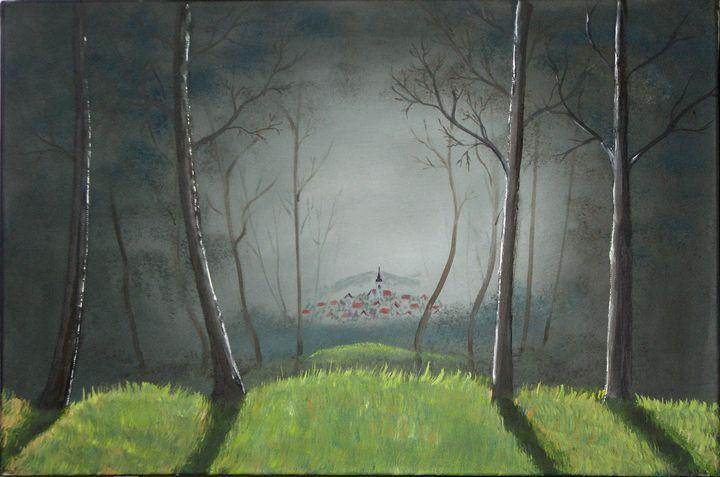 Willage - Marjan Malovrh paintings