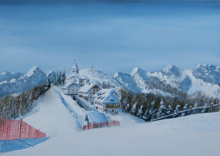 Monte Lussari - Marjan Malovrh paintings