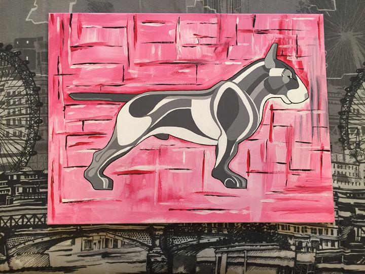 engligh bull terrier - Bull Terrier