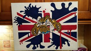 English Bull Dog - Bull Terrier