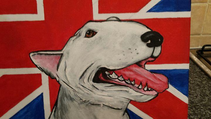 English bull terrier - Bull Terrier