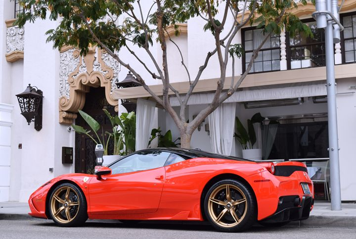Ferrari 458 Speciale on Rodeo Drive - Steven Kittrell Automotive Imagery