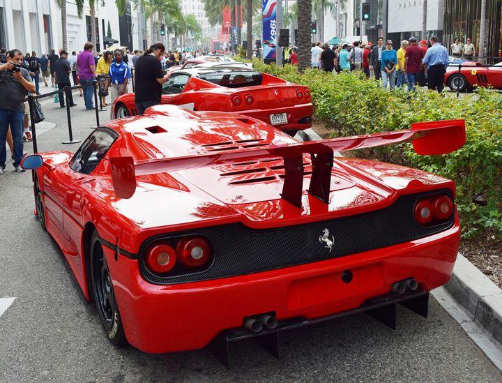 Ferrari F50 GT1 - Steven Kittrell Automotive Imagery