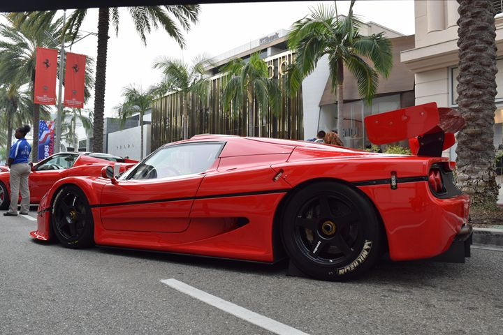 Ferrari F50 GT #001 - Steven Kittrell Automotive Imagery