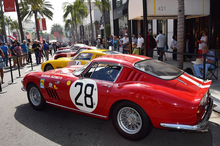 Ferrari 275 Competition Class - Steven Kittrell Automotive Imagery
