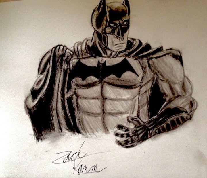 Batman Sketch - Bat Cave