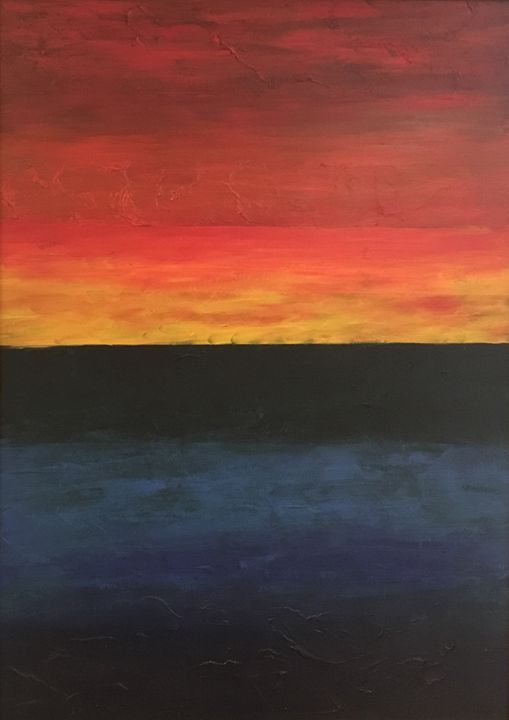Sunset on the Horizion - Mike Crozier's Art