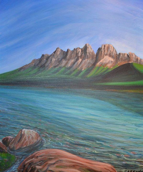 Banff National Park - Mike Crozier's Art