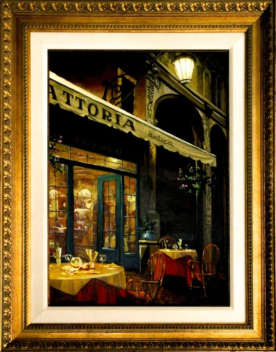 """Viktor Shvaiko """"Bella Notte"""" - Back to Life Gallery"""