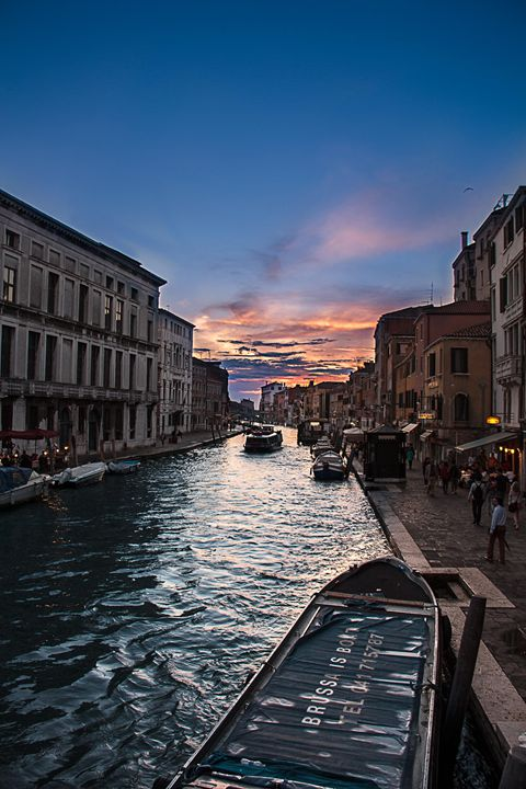 Sunset in Venice - Kat Alvarez Photography