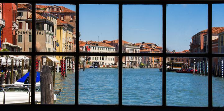 Venice thru the window - Kat Alvarez Photography