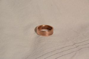 """""""Solid"""" Copper Band (Ring)"""