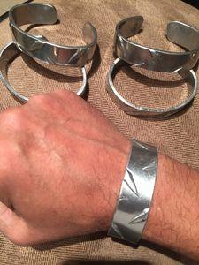 """""""Heavy Metal"""" Covid19 Bracelet"""