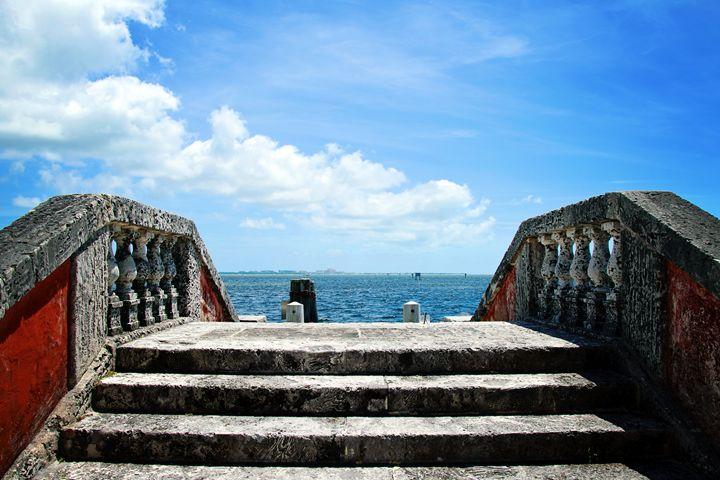 Sea Stairs - Happy Little Pixels