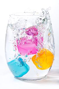 Colorful Ice