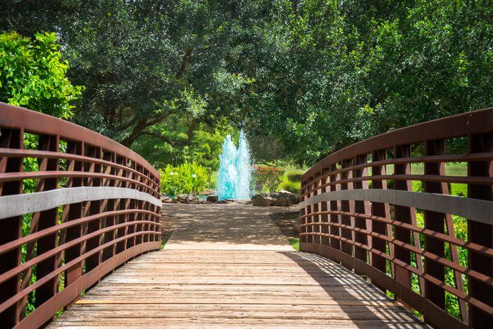 Bridge To Tranquility - Happy Little Pixels