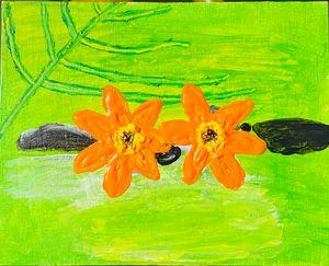 Nature scenery painting