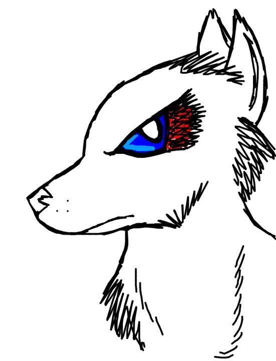 Ruff wolf - Saylors characters