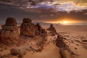Tassili National Park in Algeria