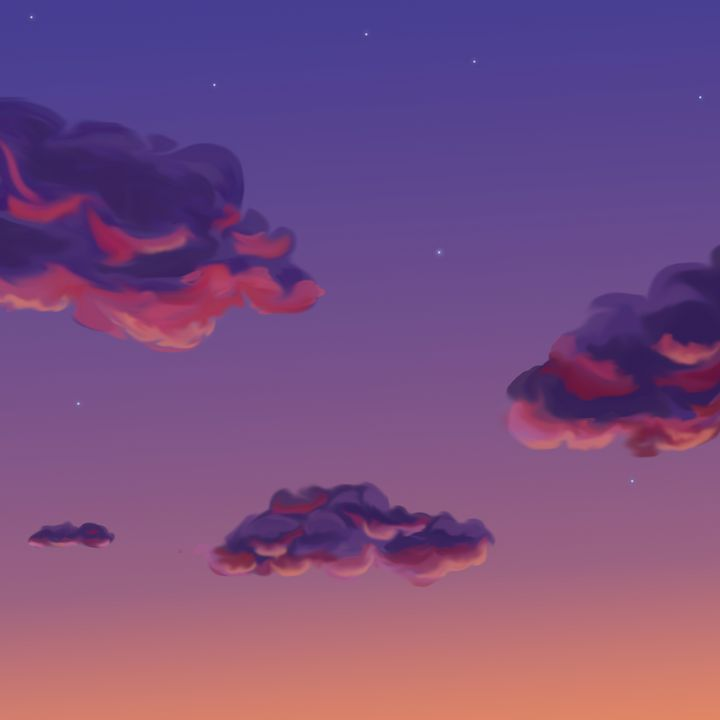 Sunset clouds - Ro