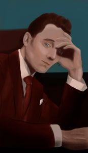 Tom Hiddleston portrait