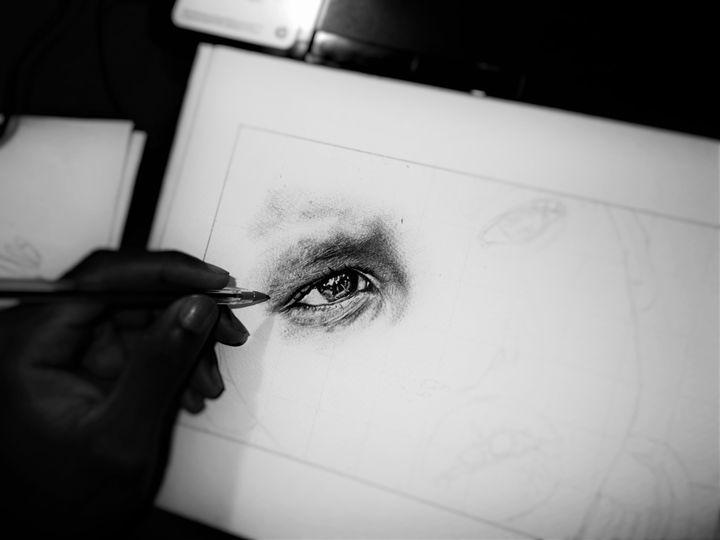 Dibujo a Boligrafo - Gart Hn