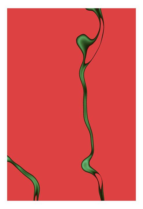 Smoke Red/Green - G Photo Fine Art