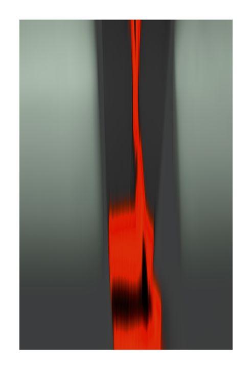 Brush Stroke Red - G Photo Fine Art